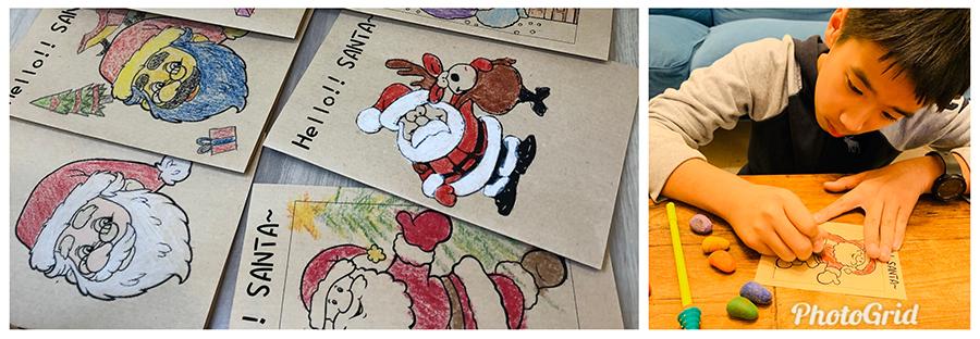 20191129菲力北新安親校夢想筆記:今年想過的耶誕節是……